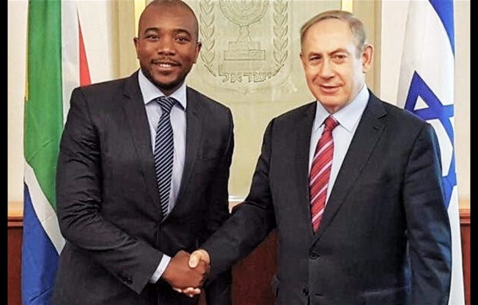 The DA has previously drawn skepticism and criticism over its ties to Israel.