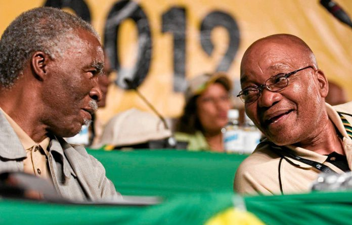 The Gauteng ANC reportedly asked Thabo Mbeki to win over its middle class.