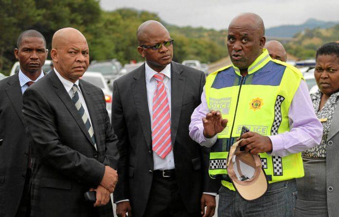 Mthandazo Ntlemeza.