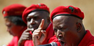 """""""Why is treasury always represented by an Indian when there is 80% African staff? Because there is a tendency [for] our Indian brothers to look down at Africans."""" — EFF leader Julius Malema defending Floyd Shivambu"""
