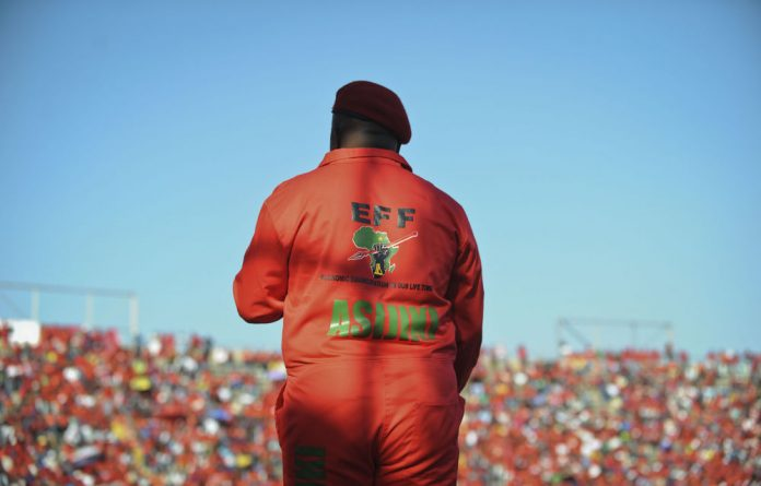 ANC secretary general Gwede Mantashe says the platinum strike was becoming a political one because of the EFF's alleged involvement.