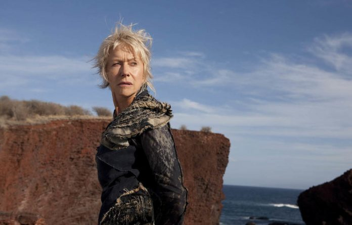 Helen Mirren in The Tempest.