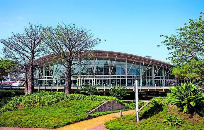Durban's Inkosi Albert Luthuli International Convention Centre