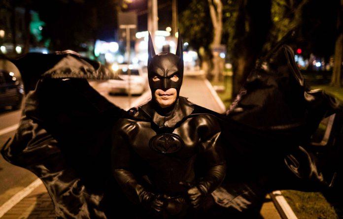 Christian Bale stars as Batman in the movie 'The Dark Knight Rises'.