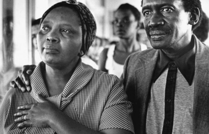 Veronica and Robert Sobukwe.