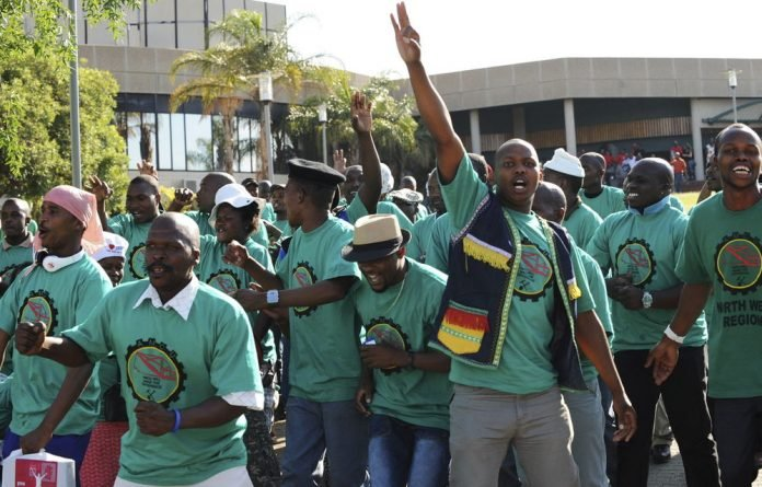 Amcu has demanded R12 500 for entry level workers but companies said they cannot afford big pay rises.