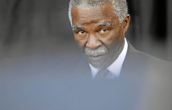 Thabo Mbeki's testimony in the arms deal commission was postponed after his mother's death.