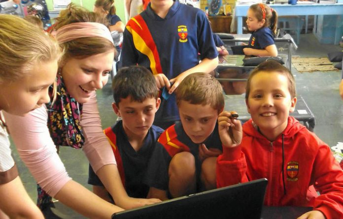 Anita van Vuuren uses technology to enhance pupil's learning