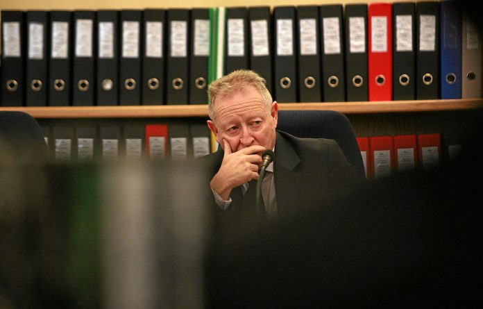 David Lewis at the Competition Commission Tribunal in Pretoria.