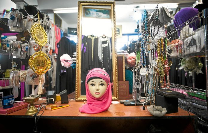 Al-Medina Fashions in Fordsburg has a huge selection of scarves.