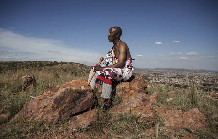 Traditional healer Ephraim Mabena had a vision — to transform an area used as a dump site and where bad things happened into an indigenous plant nursery that borders populous Mamelodi and its part of the Magaliesberg biosphere