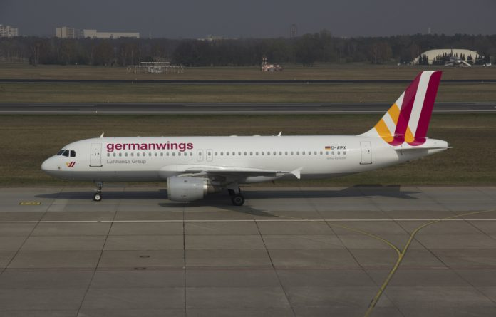 File photo of a Germanwings Airbus A320.