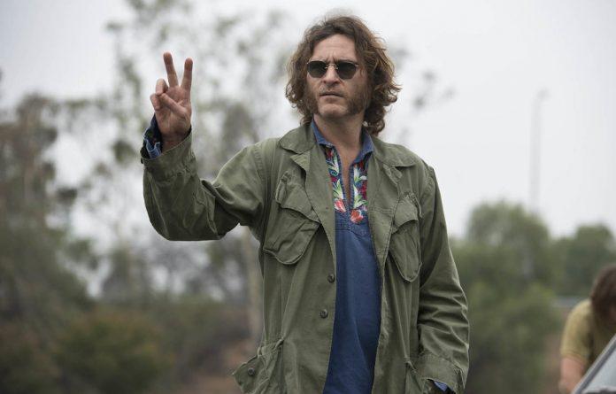 Shaggy-dog detective: Joaquin Phoenix as the stoner PI Doc Sportello in