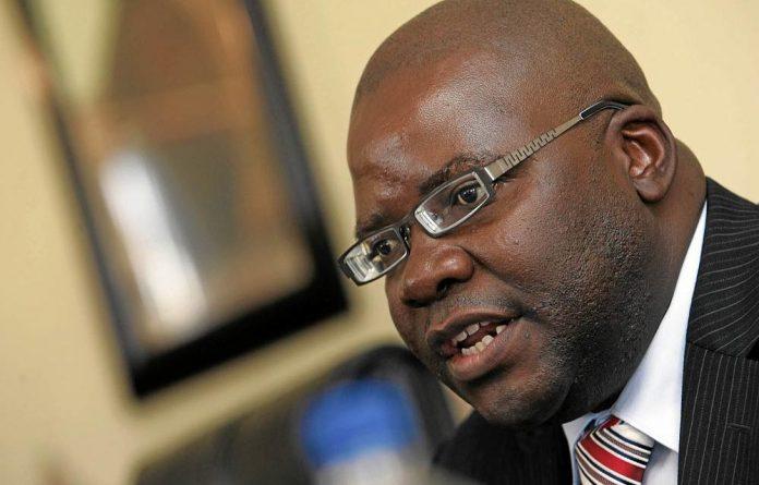 Former Zimbabwe finance minister Tendai Biti.
