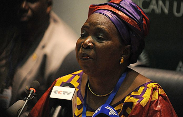 Nkosazana Dlamini-Zuma has taken over as head of the African Union.