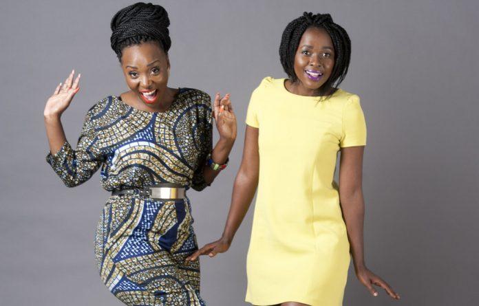 Musicians Wanda Baloyi and Asanda Bam.