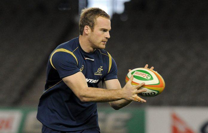 Australian Wallbies player Pat McCabe has suffered a broken neck