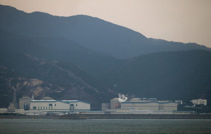 A general view of a Daya Bay nuclear power station in China's southern city of Huizhou in Guangdong province.