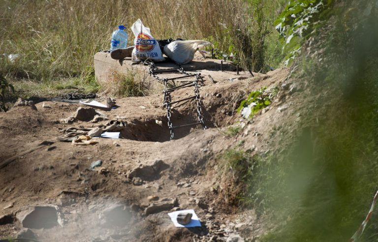 Two illegal miners die, one body trapped underground