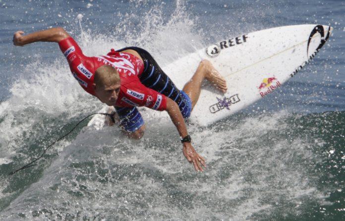 Surfer Mick Fanning.