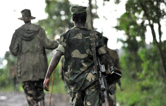 At least 200 fighters belonging to M23 rebel group are still holed up in a mountainous region bordering Uganda.