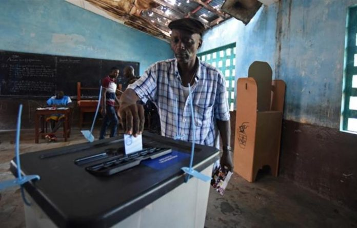 More than three million Sierra Leoneans are eligible to vote