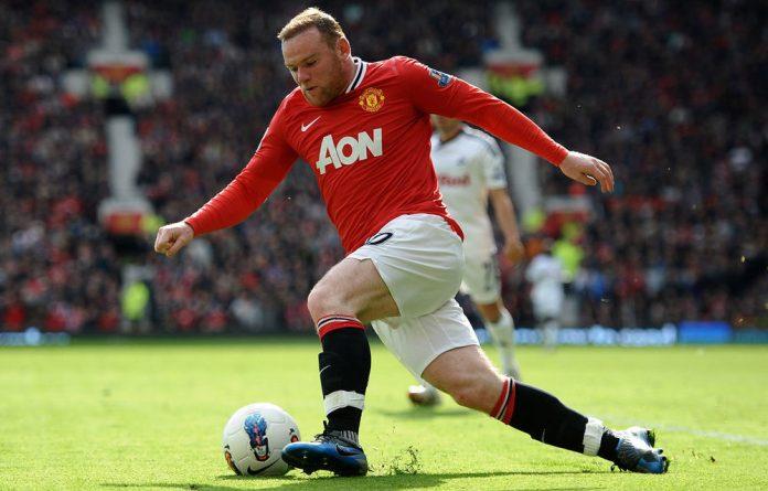 Wayne Rooney of Manchester United.