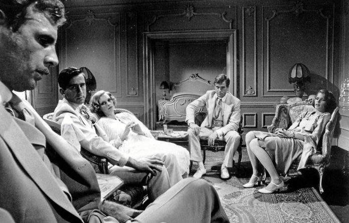 The cast of the film The Great Gatsby.