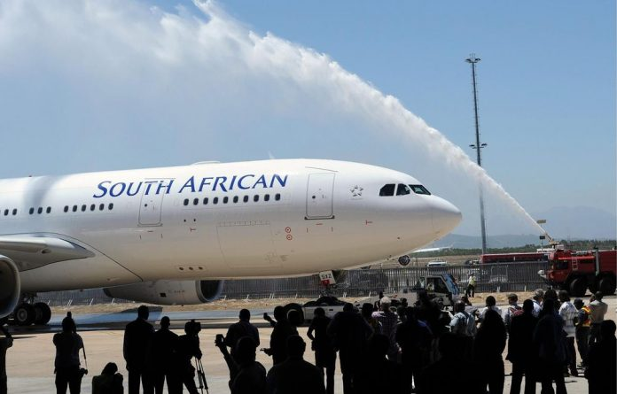 Treasury has agreed to a R5-billion guarantee for embattled state owned airline SAA