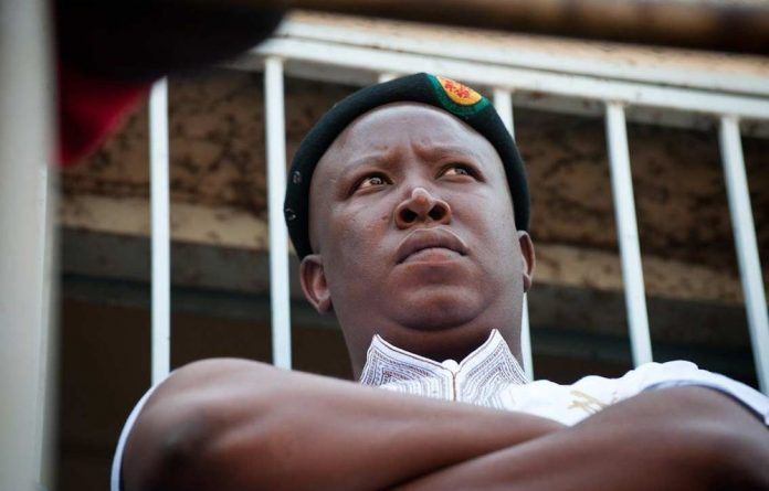 Expelled ANC Youth League leader Julius Malema says his life is in danger.