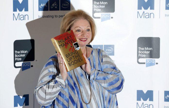 Author Hilary Mantel.