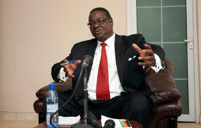 Malawi President Peter Mutharika.