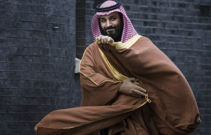 The Saudi crown prince
