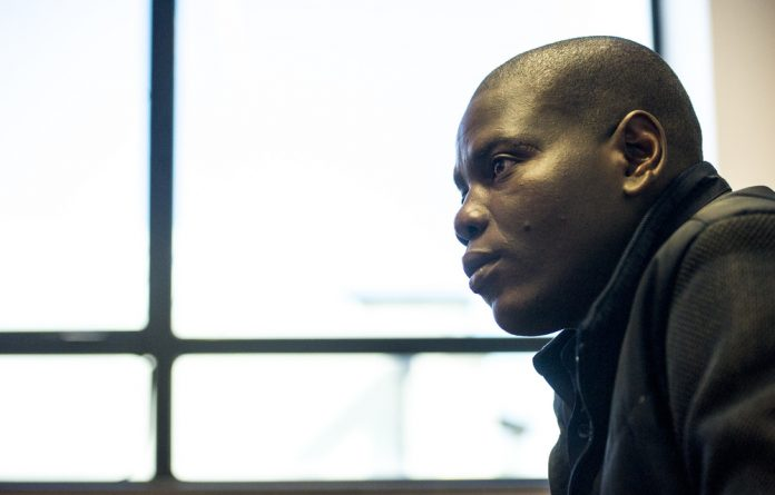 Experienced: Ronald Lamola spent part of his childhood on a farm and was the ANC Youth League deputy president when he and league president Julius Malema called for land expropriation.