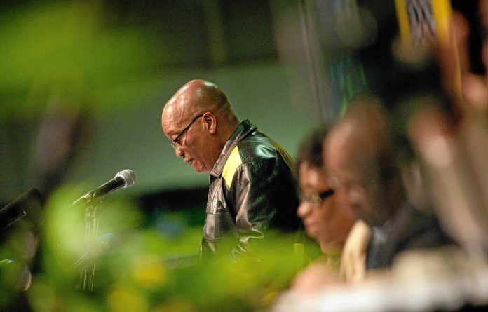 Five ANCYL supporters have been detained after disrupting President Jacob Zuma's speech in Limpopo.