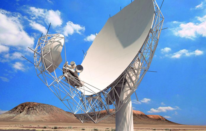 Manufacturers confirm that the 64-dish radio telescope that will form part of the Square Kilometre Array