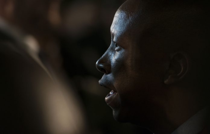 The women were said to be fuming over Malema's claims that have dominated social media