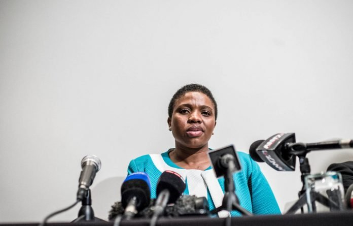 Last year Nomgcobo Jibawas struck off the roll of advocates of the General Council of the Bar of SA.