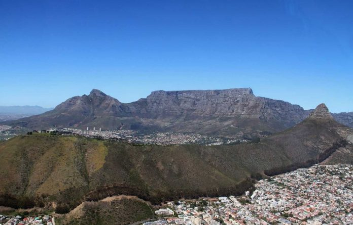 Table Mountain has been named one of the seven wonders of nature.