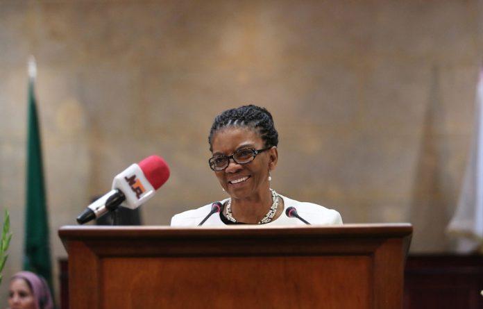 Nomaindia Mfeketo may place the Housing Development Agency under administration.