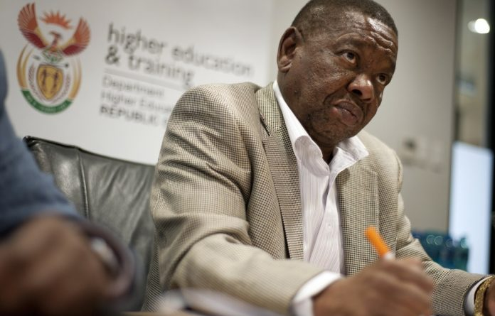 Minister for Higher Education and Training Blade Nzimande should spend half an hour to declare his stance on plagiarism.