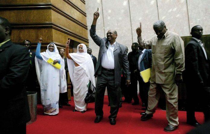 Sudan's President Omar al-Bashir  is lobbying for an African space agency.