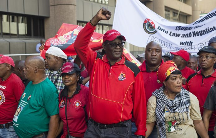 On Monday Zwelinzima Vavi