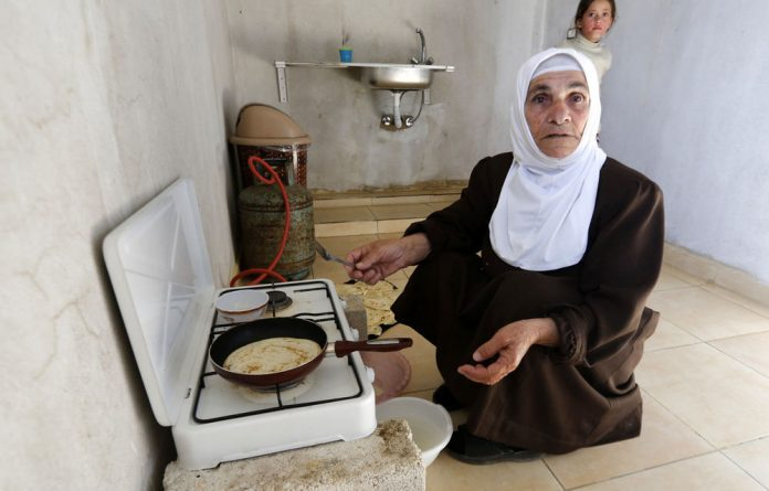 Adrift: Roughly 750 000 Syrian refugees are in Lebanon according to UN figures.