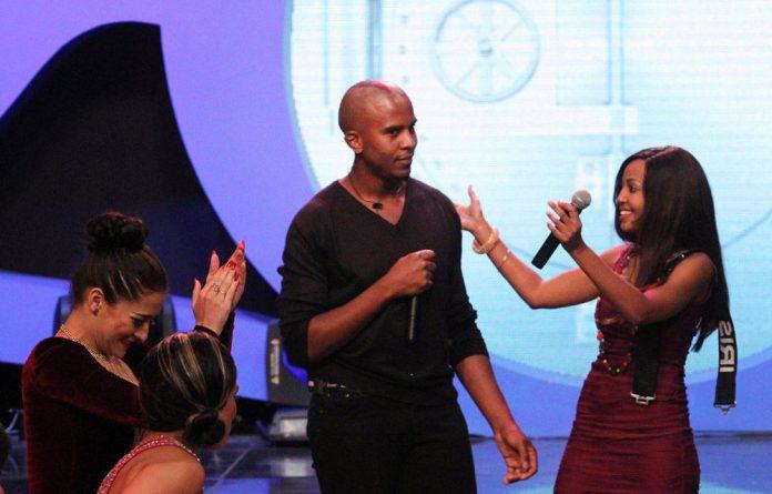 Big Brother Mzansi winner Mandla Hlatshwayo.