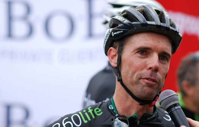 Cyclist David George has admitted taking the banned drug EPO.