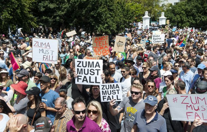 South Africans took to the streets countrywide on 16 December
