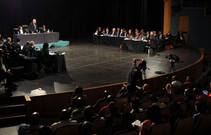 Amcu president Joseph Mathunjwa has come under scrutiny at the Farlam commission over his agenda on the day of the Marikana massacre.