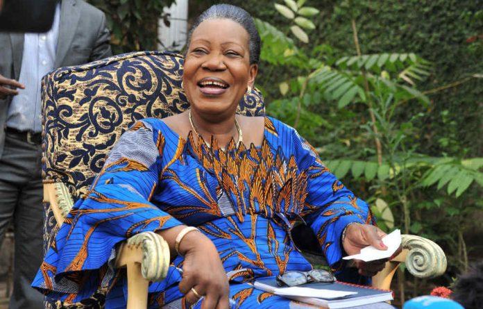 The Central African Republic's new interim President Catherine Samba-Panza.