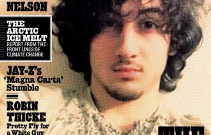 The Rolling Stone cover of Dzhokhar Tsarnaev.